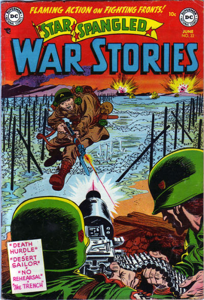 Cover for Star Spangled War Stories (DC, 1952 series) #22
