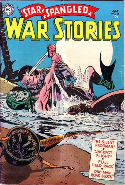 Cover for Star Spangled War Stories (DC, 1952 series) #23