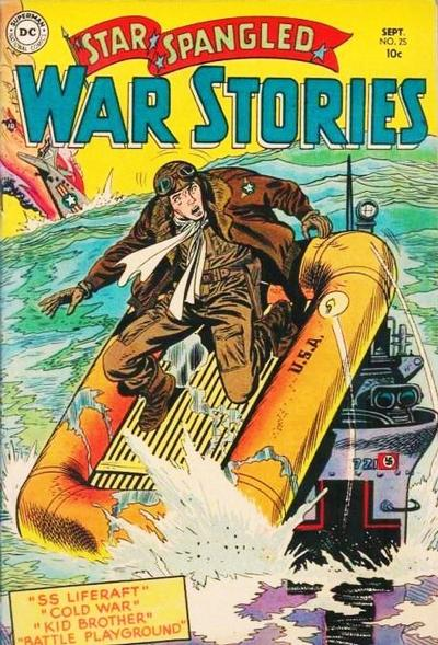 Cover for Star Spangled War Stories (DC, 1952 series) #25