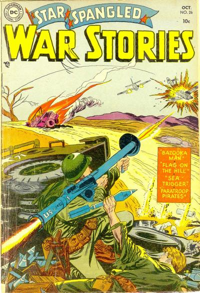 Cover for Star Spangled War Stories (DC, 1952 series) #26