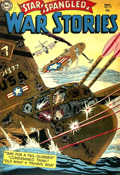 Cover for Star Spangled War Stories (DC, 1952 series) #27