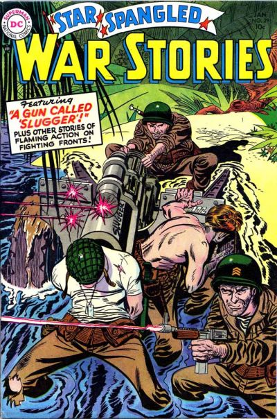 Cover for Star Spangled War Stories (DC, 1952 series) #29