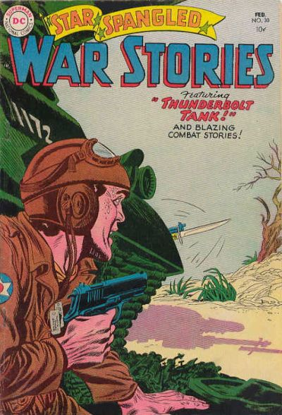 Cover for Star Spangled War Stories (DC, 1952 series) #30