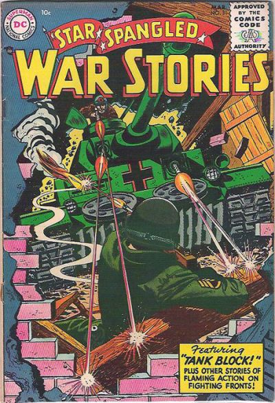 Cover for Star Spangled War Stories (DC, 1952 series) #31