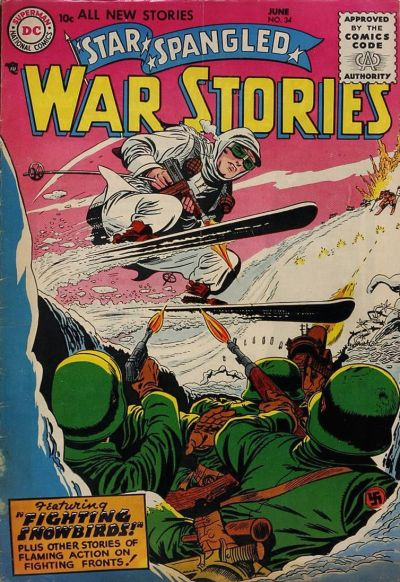 Cover for Star Spangled War Stories (DC, 1952 series) #34