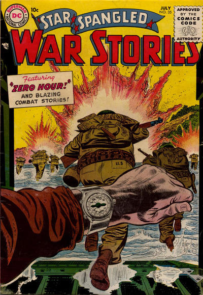 Cover for Star Spangled War Stories (DC, 1952 series) #35