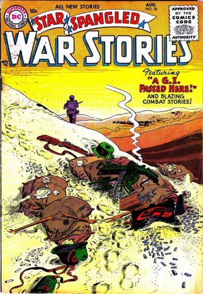 Cover for Star Spangled War Stories (DC, 1952 series) #36