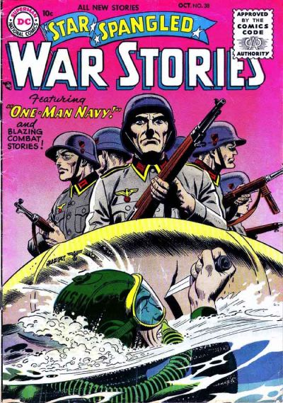 Cover for Star Spangled War Stories (DC, 1952 series) #38