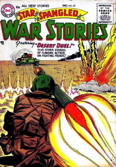 Cover for Star Spangled War Stories (DC, 1952 series) #40