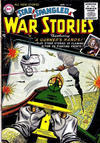 Cover for Star Spangled War Stories (DC, 1952 series) #41