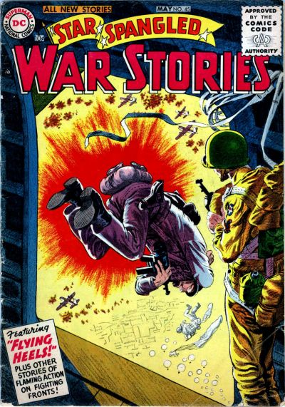 Cover for Star Spangled War Stories (DC, 1952 series) #45