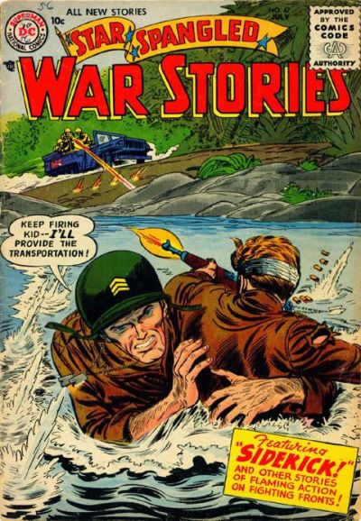 Cover for Star Spangled War Stories (DC, 1952 series) #47
