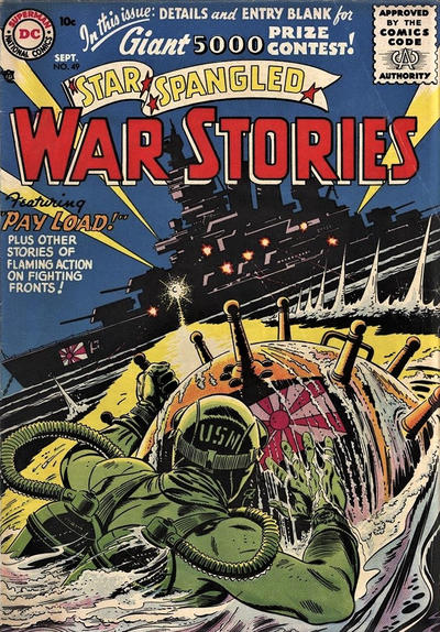 Cover for Star Spangled War Stories (DC, 1952 series) #49
