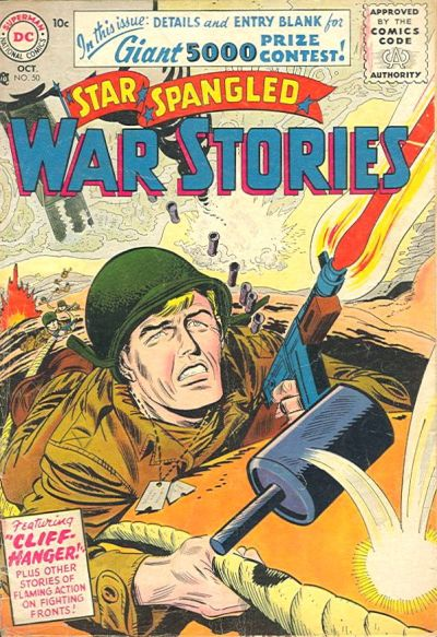 Cover for Star Spangled War Stories (DC, 1952 series) #50