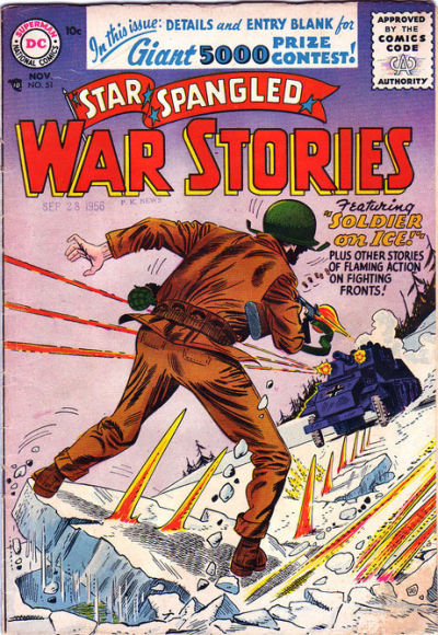 Cover for Star Spangled War Stories (DC, 1952 series) #51
