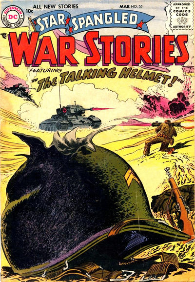 Cover for Star Spangled War Stories (DC, 1952 series) #55