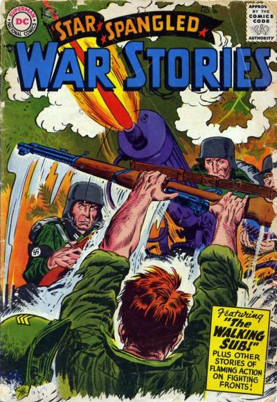 Cover for Star Spangled War Stories (DC, 1952 series) #56