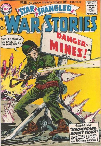 Cover for Star Spangled War Stories (DC, 1952 series) #62