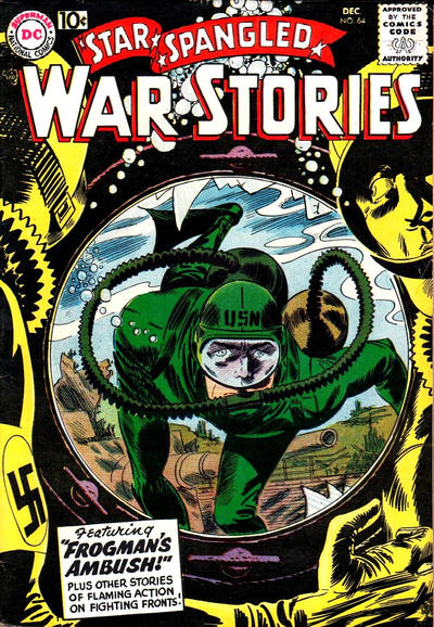Cover for Star Spangled War Stories (DC, 1952 series) #64