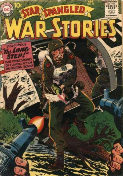 Cover for Star Spangled War Stories (DC, 1952 series) #68