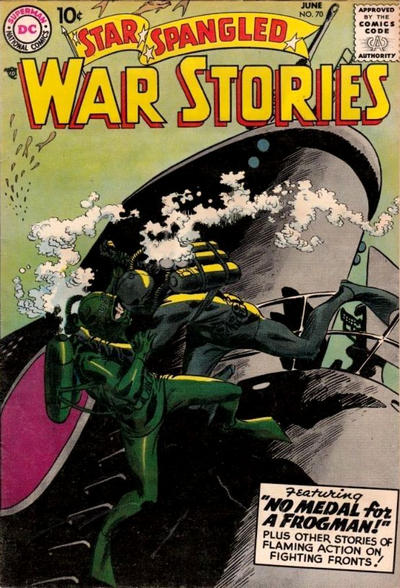 Cover for Star Spangled War Stories (DC, 1952 series) #70