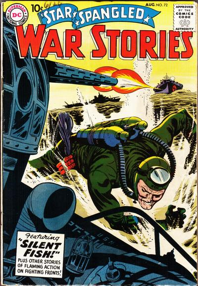 Cover for Star Spangled War Stories (DC, 1952 series) #72