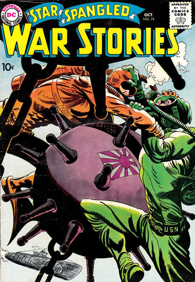 Cover for Star Spangled War Stories (DC, 1952 series) #74