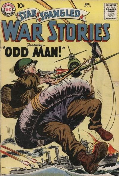 Cover for Star Spangled War Stories (DC, 1952 series) #76