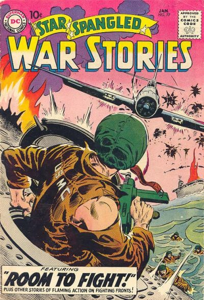 Cover for Star Spangled War Stories (DC, 1952 series) #77