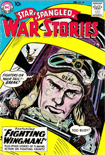 Cover for Star Spangled War Stories (DC, 1952 series) #78