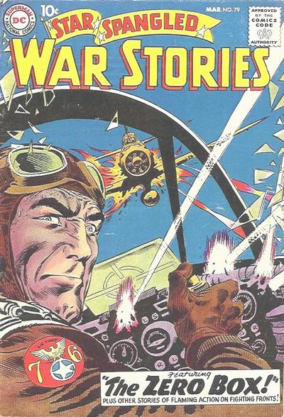 Cover for Star Spangled War Stories (DC, 1952 series) #79