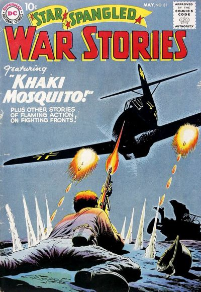 Cover for Star Spangled War Stories (DC, 1952 series) #81