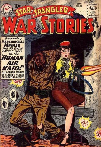 Cover for Star Spangled War Stories (DC, 1952 series) #85