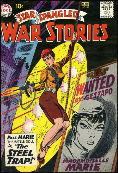 Cover for Star Spangled War Stories (DC, 1952 series) #88