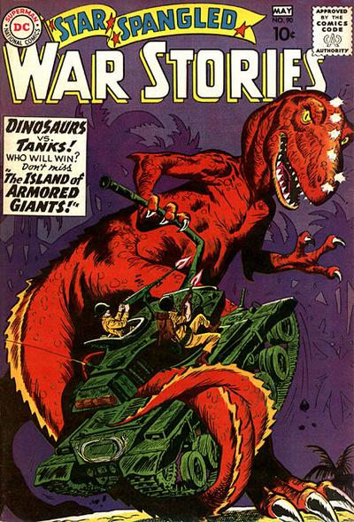 Cover for Star Spangled War Stories (DC, 1952 series) #90