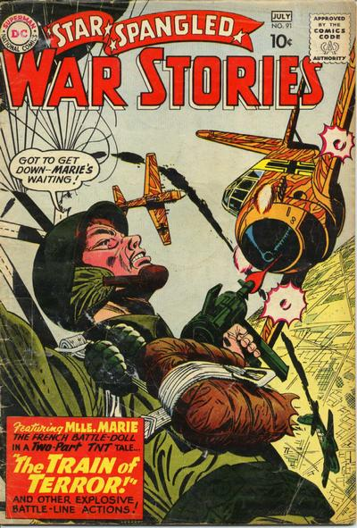 Cover for Star Spangled War Stories (DC, 1952 series) #91