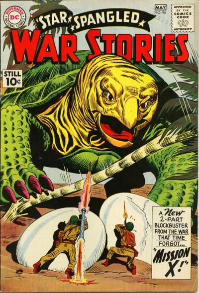 Cover for Star Spangled War Stories (DC, 1952 series) #96