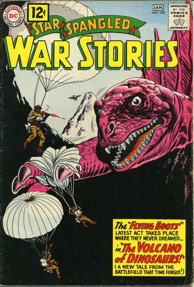 Cover for Star Spangled War Stories (DC, 1952 series) #100