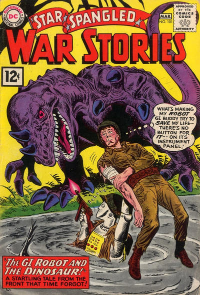 Cover for Star Spangled War Stories (DC, 1952 series) #101