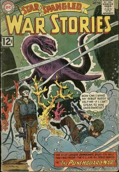 Cover for Star Spangled War Stories (DC, 1952 series) #102