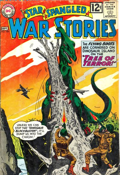 Cover for Star Spangled War Stories (DC, 1952 series) #104