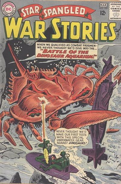 Cover for Star Spangled War Stories (DC, 1952 series) #107