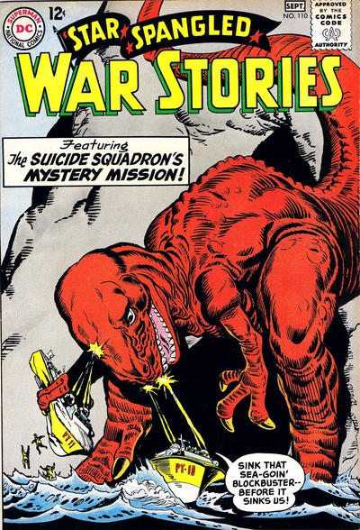 Cover for Star Spangled War Stories (DC, 1952 series) #110