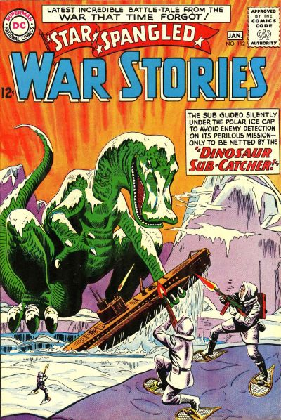 Cover for Star Spangled War Stories (DC, 1952 series) #112