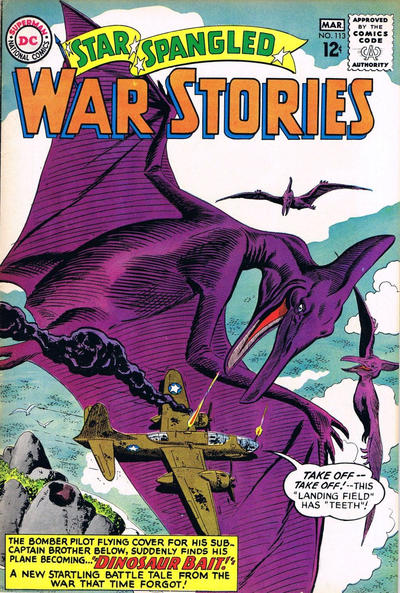 Cover for Star Spangled War Stories (DC, 1952 series) #113