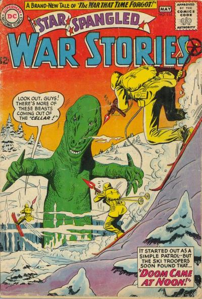 Cover for Star Spangled War Stories (DC, 1952 series) #114