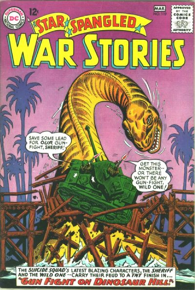Cover for Star Spangled War Stories (DC, 1952 series) #119