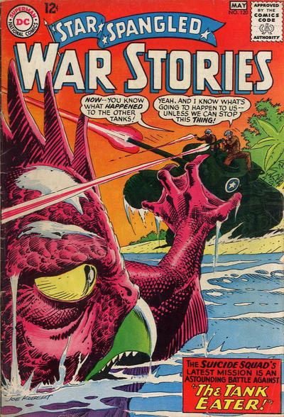 Cover for Star Spangled War Stories (DC, 1952 series) #120