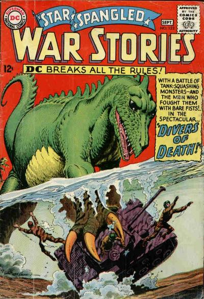 Cover for Star Spangled War Stories (DC, 1952 series) #122