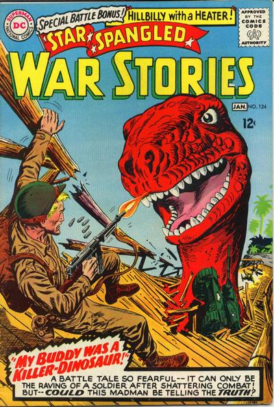 Cover for Star Spangled War Stories (DC, 1952 series) #124